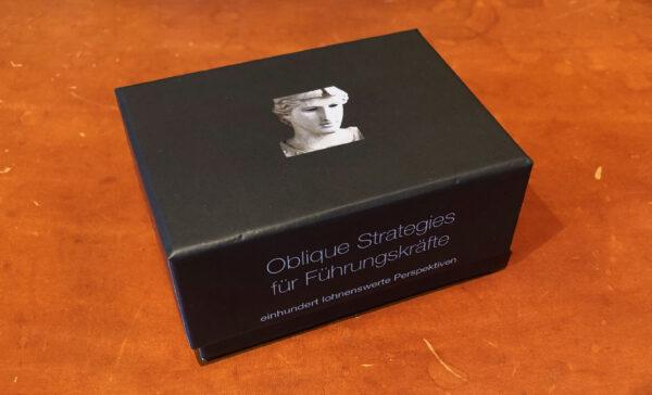 Oblique Strategies für Führungskräfte